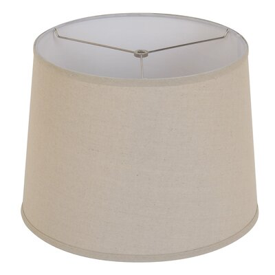 15 Drum Lamp Shade Color: Stone