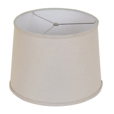 15 Drum Lamp Shade Color: Natural Stone