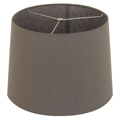 15 Drum Lamp Shade Color: Slate