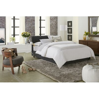 Belden Upholstered Platform Bed Size: Queen, Upholstery Color: Gray