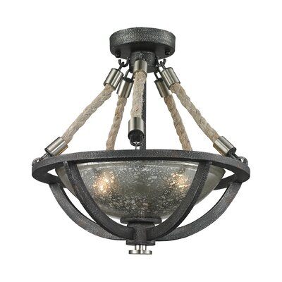 Abercrombie 2-Light Inverted Pendant
