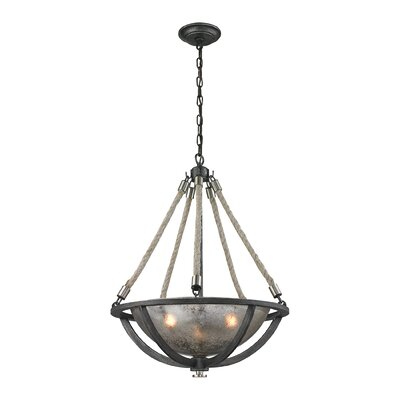 Abercrombie 3-Light Inverted Pendant