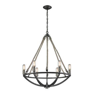 Ballantine 6-Light Candle-Style Chandelier