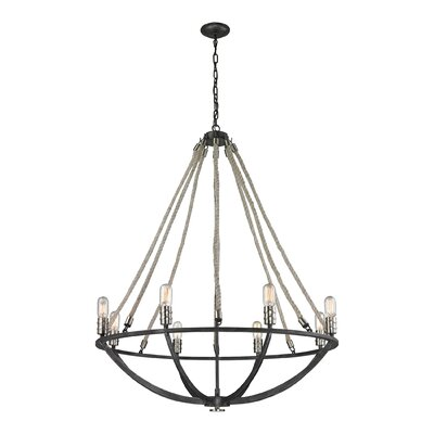 Abercrombie 8-Light Candle-Style Chandelier