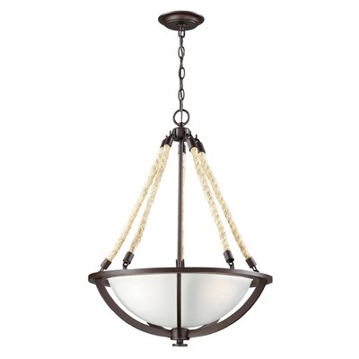 Ballantine 3-Light Bowl Pendant