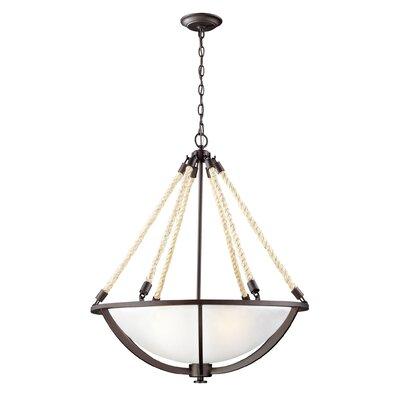 Abercrombie 4-Light Bowl Pendant