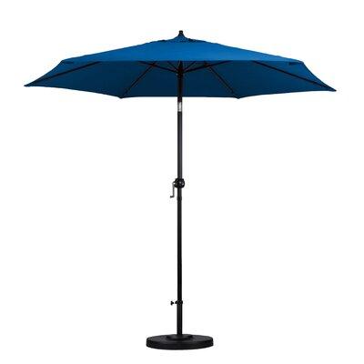 Medulla 9 Market Umbrella Fabric: Pacific Blue