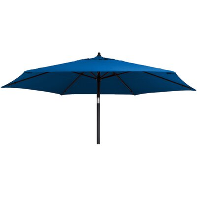 Kearney 9 Market Umbrella Fabric: Pacific Blue