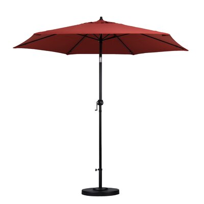 Medulla 9 Market Umbrella Fabric: Brick