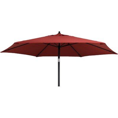 Kearney 9 Market Umbrella Fabric: Brick