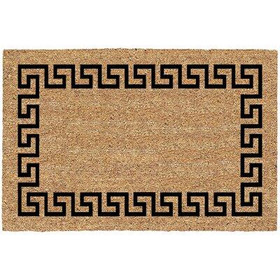 Blenheim Greek Key Doormat