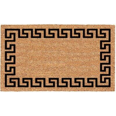 Blenheim Greek Key Doormat