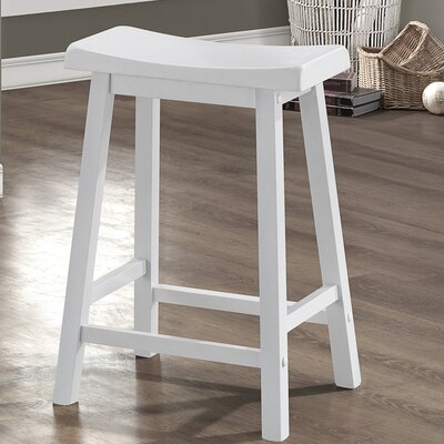 Lancaster 24 Bar Stool Color: White
