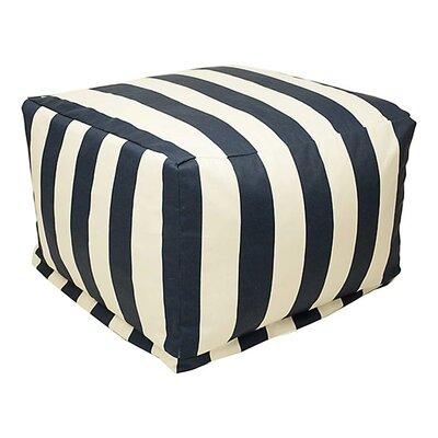 Bean Bag Ottoman Upholstery: Navy Blue
