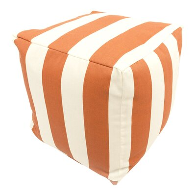 Baffin Pouf Ottoman Upholstery: Burnt Orange
