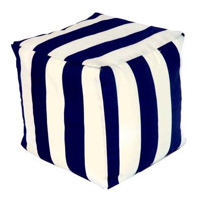 Baffin Pouf Ottoman Upholstery: Navy Blue