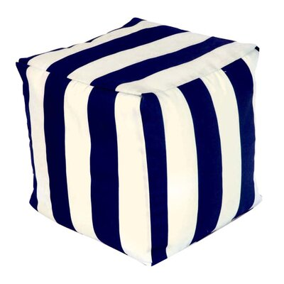 Baffin Cube Ottoman Upholstery: Navy Blue