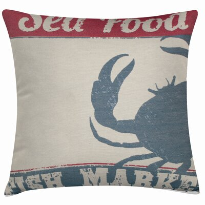 Murray Sea Food Throw Pillow