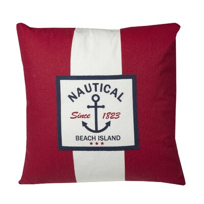 Murray Nautical Stripe Throw Pillow