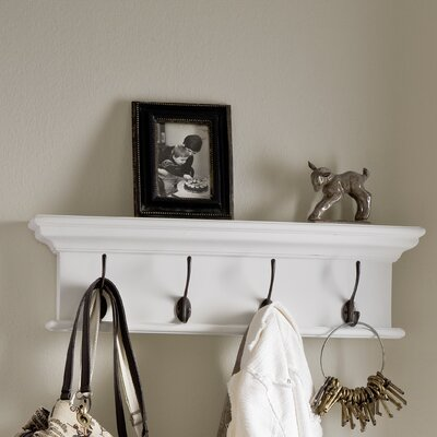 Travis 4 Hook Coat Rack