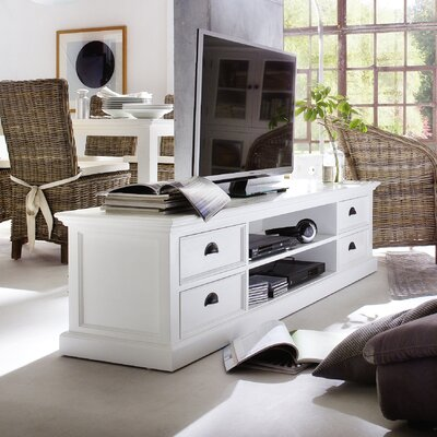 Travis TV Stand Top Finish: White