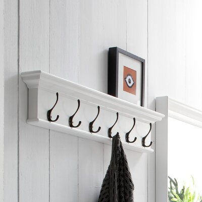 Travis 6 Hook Coat Rack