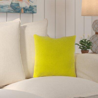 Truxton Outdoor Throw Pillow Fabric: Fresco Yellow