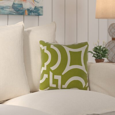 Truxton Outdoor Throw Pillow Fabric: Carmody Kiwi