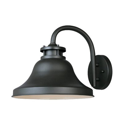 Ashbourne 1-Light Outdoor Barn Light Size: 10.25 H x 11 W