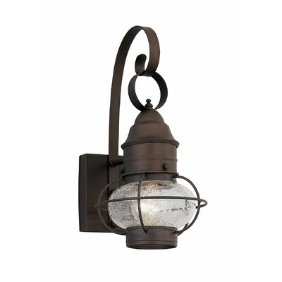 Bolinger 1-Light Outdoor Wall Lantern Size: 17.5 H x 9.75 W
