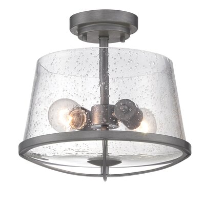 Regan 2-Light Semi Flush Mount