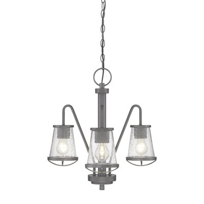 Regan 3-Light Shaded Chandelier