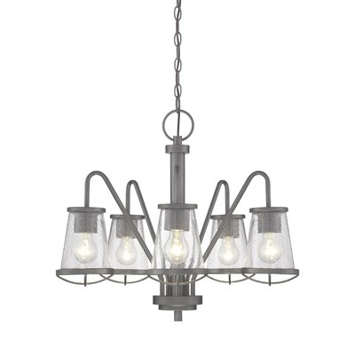 Regan 5-Light Shaded Chandelier