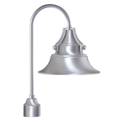 Belgrave 1-Light Lantern Head Finish: Satin Aluminum