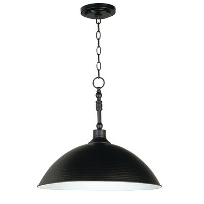 Edenvale 1-Light Mini Pendant Finish: Antique Bronze