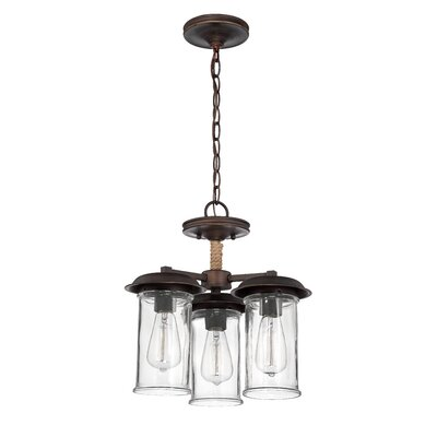 Sanderling 3-Light Mini Chandelier