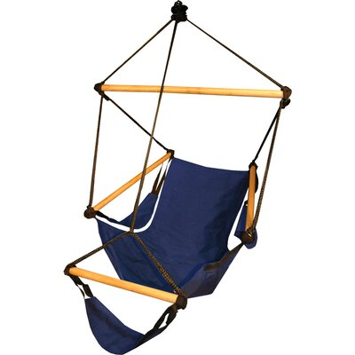 Crowell Polyester Chair Hammock Color: Midnight Blue