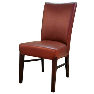 Ginevra�Side Chair Upholstery: Pomegranate