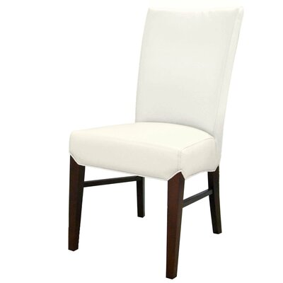 Ginevra�Side Chair Upholstery: White