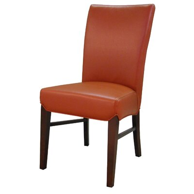 Ginevra�Side Chair Upholstery: Pumpkin