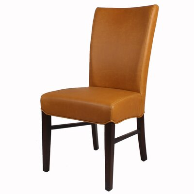 Ginevra�Side Chair Upholstery: Vintage Caramel
