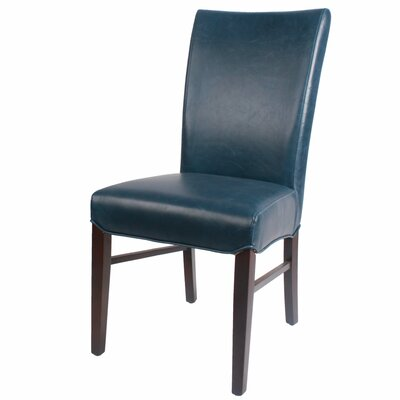 Ginevra�Side Chair Upholstery: Vintage Blue