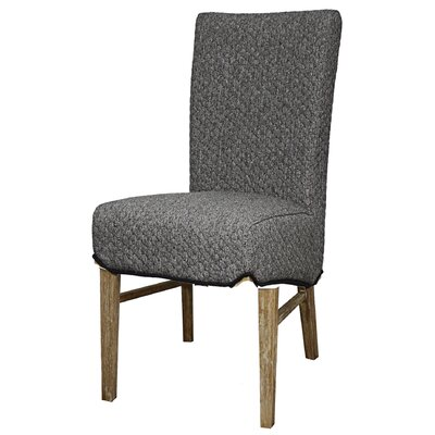 Ginevra�Side Chair Upholstery: Gray Honeycomb