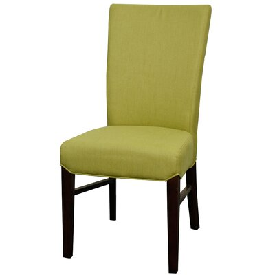 Ginevra?Side Chair Color: Lime