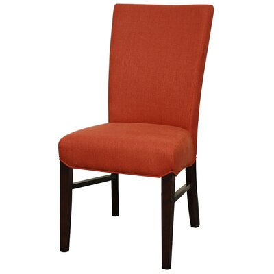 Ginevra�Side Chair Color: Persimmon