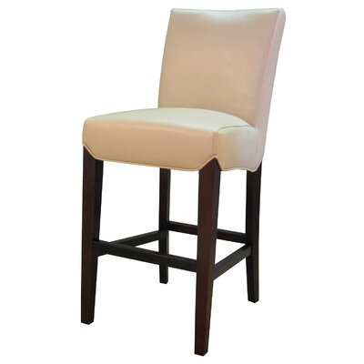 Ginevra�26 Bar Stool Upholstery: Cream