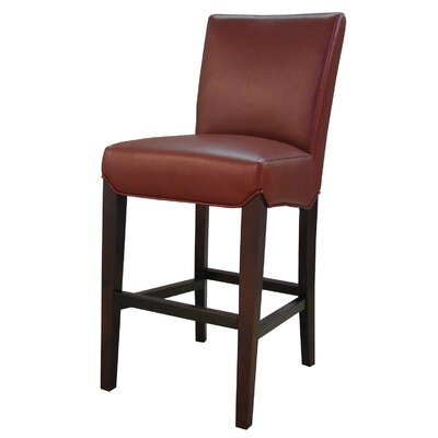 Ginevra�26 Bar Stool Upholstery: Pomegranate