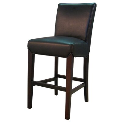 Ginevra�26 Bar Stool Upholstery: Black
