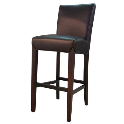 Ginevra� 29.5 Bar Stool with Cushion Upholstery: Coffee Bean