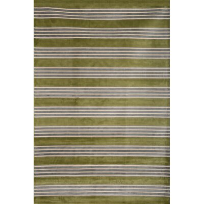 Luciana� Green/Light Blue/Ivory Area Rug Rug Size: 710 x 112